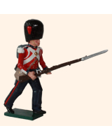 0112 3 Toy Soldier Private Advancing Coldstream Guards Kit