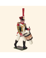 0728 2 Toy Soldier Grenadier Drummer Kit