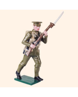 0817 3 Toy Soldier Private advancing Kit