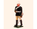 096 1 Toy Soldier Officer British Royal Artillery Mountain Battery Kit