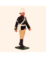 096 2 Toy Soldier Sergeant British Royal Artillery Mountain Battery Kit