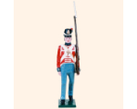 B1 10 Toy Soldier Private Marching British Line Infantry Kit