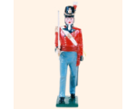B1 02 Toy Soldier Officer Marching British Line Infantry Kit