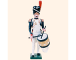 N1-6 Toy Soldier Drummer Marching Imperial Guard Grenadier 1810 Kit