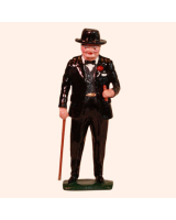 0563 Sir Winston Churchill with Walking Stick Kit