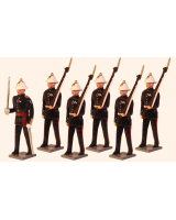 005 Toy Soldiers Set  Royal Marines c.1923 Painted