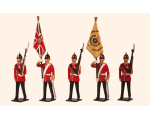 026 Toy Soldiers Set Colours and Escort, The Buffs East Kent Regiment 1890 Painted