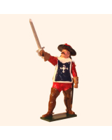 0350 Toy Soldiers Set d'Artagnan Painted