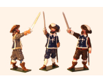 351 Toy Soldiers Set The Three Musketeers Painted