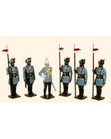 0046 Toy Soldiers Set 28th Light Cavalry 1903 Painted