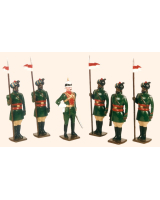 0048 Toy Soldiers Set 1st Duke of Connaught's Own Painted