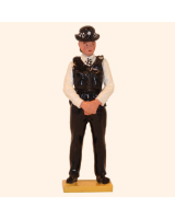 0570 Toy Soldier Set Police Women Painted