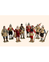 0067 Toy Soldier Set The English Civil War Painted