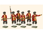 069 Toy Soldiers Set 7th Bengal Native Infantry 1890 Painted