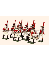 0729 Toy Soldiers Set The 3rd Swiss Regiment 1812 Painted