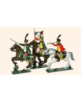 0756 Toy Soldiers Set French Hussars Painted