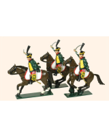 0757 Toy Soldiers Set French Hussars Painted