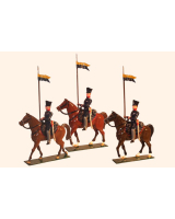 0779 Toy Soldier Set Landwehr Cavalry Prussian Napoleonic War Painted