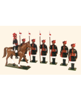 080 Toy Soldiers Set 25th Cavalry Frontier Force 1910 Painted
