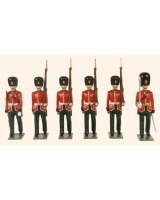 0083 Toy Soldiers Set Royal Scots Fusiliers 1895 Painted