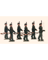 084 Toy Soldiers Set The Cameronians 1895 Painted
