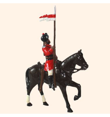ToL 040 - M212 Toy Soldier Lancer 4th Regiment of Bengal Lancers 1900 Kit
