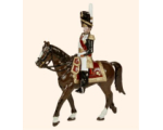 N1M Toy Soldiers Set Dorsenne on Horseback Painted