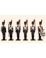 N2B Toy Soldiers Set French Artillery of the Guard 1810 Painted