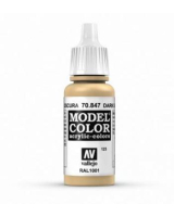 AV Vallejo Model Color VAL847 - Dark Sand - Paint