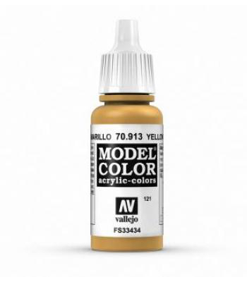 AV Vallejo Model Color VAL913 - Yellow Ochre - Paint