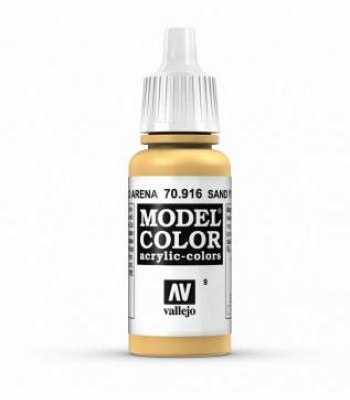 AV Vallejo Model Color VAL916 - Sand Yellow - Paint