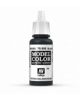 AV Vallejo Model Color VAL950 - Matt Black - Paint