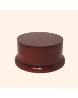 B-003 Wooden Base/ Plinth 8,5/ 10,0 Cm Diameter