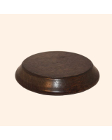 B-006 Wooden Base/ Plinth 9,5/ 12,0 Cm Diameter