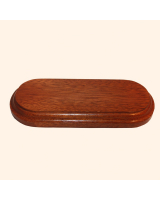 B-026 Wooden Base/ Plinth 16,0 x 5,7cm