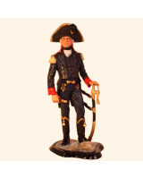 JW90 002 Danish Naval Officer 1802 Painted
