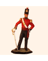 JW90 076 Officer British Line Infantry c.1850 Painted