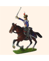 LD 1 Officer Light Dragoons charging Mounted 30mm Kit