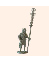 B 10 Roman Standard Bearer marching 30mm Willie Foot Kit