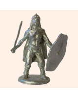 B 07d Gaul shield and sword 30mm Willie Foot Kit