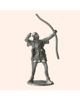 F 20a Crecy Archers firing stringing bow 30mm Willie Foot Kit