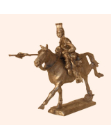 I 06a Trooper 17th Lancers Attacking 30mm Willie Mounted Kit