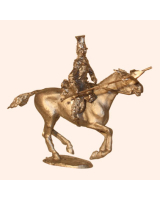 I 06b Trooper 17th Lancers Sitting 30mm Willie Mounted Kit