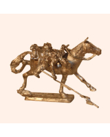 I 06c Trooper 17th Lancers Falling 30mm Willie Mounted Kit