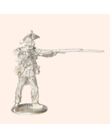 J 06a French Fusilier Italy Egypt Firing 30mm Willie Foot Kit