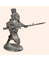 K 19a Zouaves Garde Imperial Attacking 30mm Willie Foot Kit