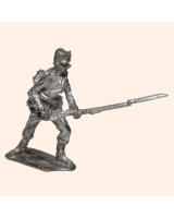 K 44a Saxon Jaeger  Rifleman Charging 30mm Willie Foot Kit