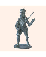 M 13 Spanish Officer in Peascod and Cuirasse 30mm Willie Foot Kit