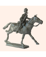 N 10 British Light Dragoon Officer 30mm Willie Mounted Kit