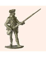 N 07b British Infantry Battalion Company Private At the Ready 30mm Willie Foot Kit